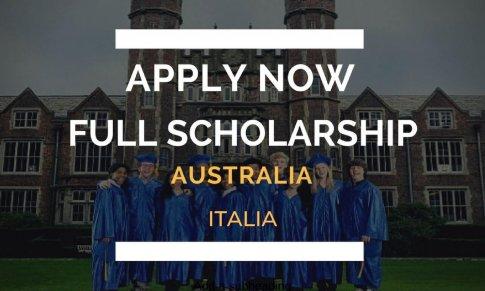 Học bổng toàn phần chính phủ Italia và Úc 2019