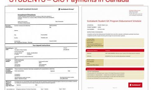 Giấy chứng nhận đầu tư đảm bảo (GIC) cho du học sinh SDS – Canada